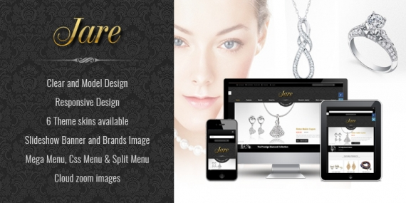 SM Jare - Responsive Theme for Magento