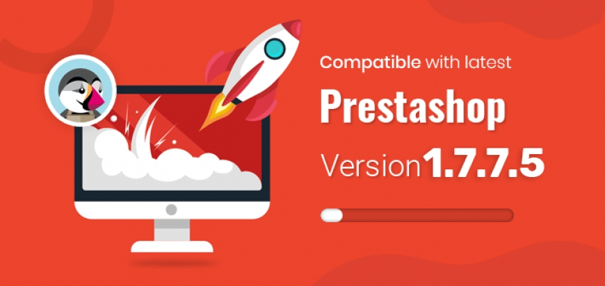 PrestaShop 1.7.7.5 is Already in our Porfolio