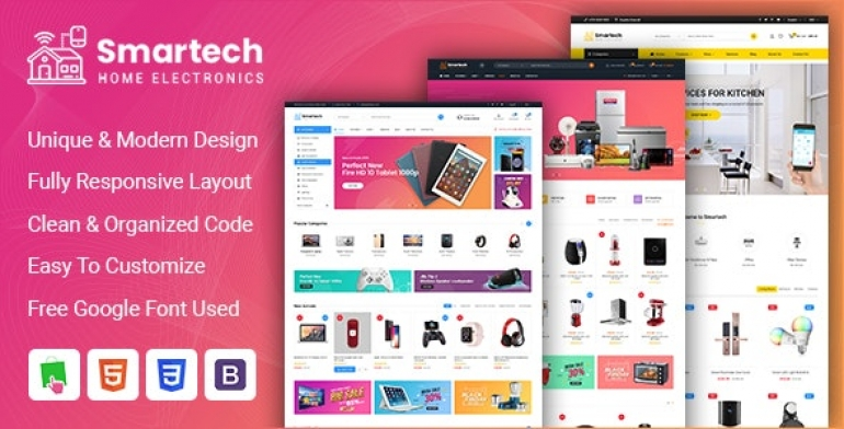 SP Smartech - Responsive PrestaShop 1.7 Hitech Theme