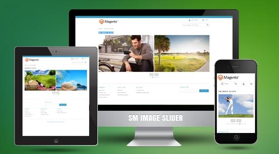 SM Image Slider - Free Responsive Magento 2 Module