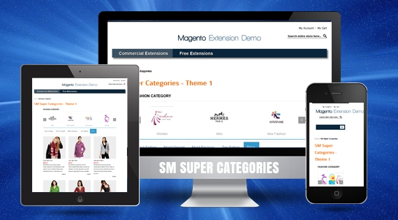 SM Super Categories - Responsive Magento 2 Module