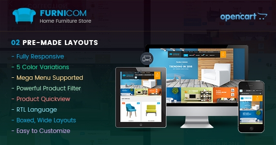 So Furnicom - Responsive OpenCart Furniture Shop Theme