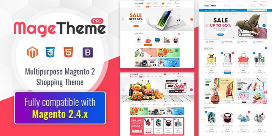 MageThemePRO - Responsive Magento 2 Shopping Template