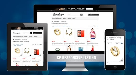 SP Responsive Listing - Responsive Prestashop Module