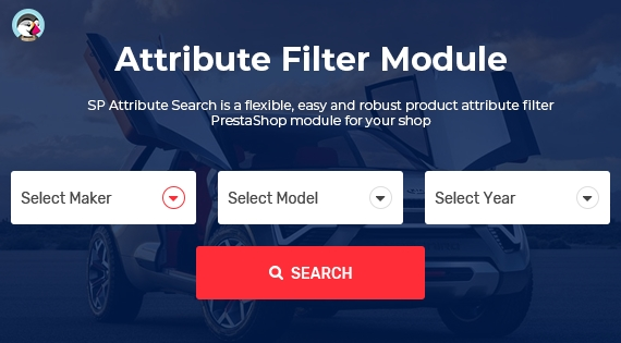 SP Attribute Search - PrestaShop Advanced Filter Product Module