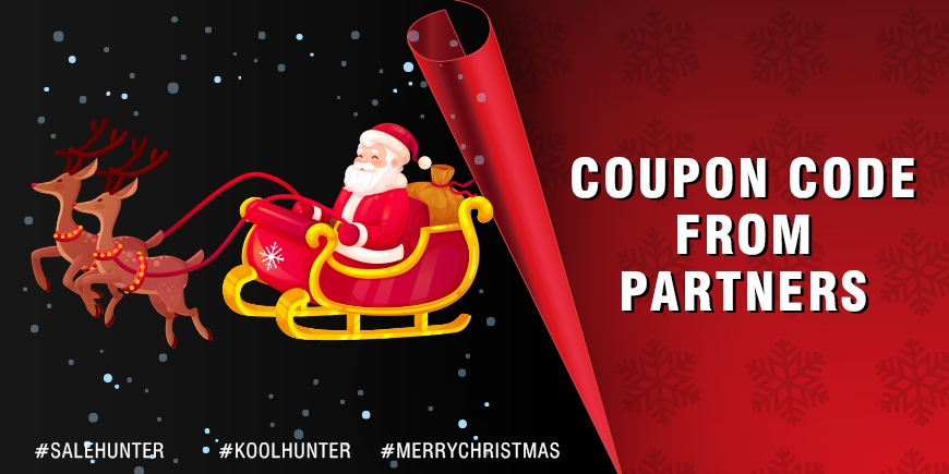 Coupon Code from Partners for Christmas 2020 Event