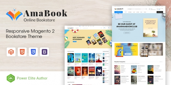 SM AmaBook - MultiPurpose Responsive Magento Theme