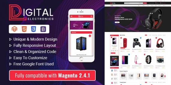SM Digital - Responsive Magento 2 Shopping Theme