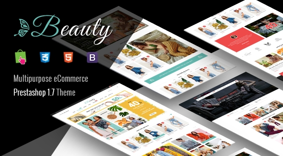 Beauty - Responsive PrestaShop 1.7 eCommerce Fashion Theme