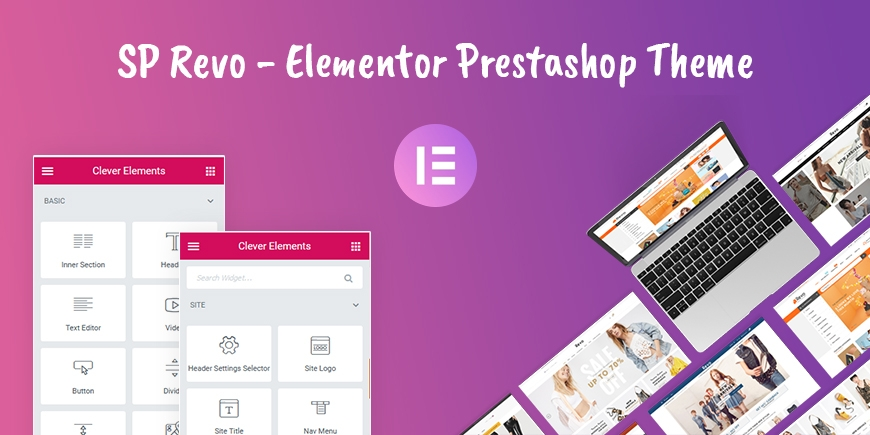 SP Revo - Elementor Prestashop Theme
