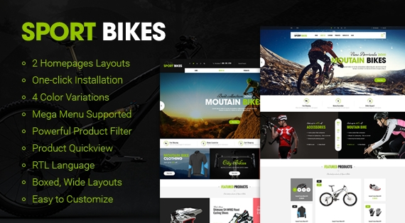 So Sportbikes - Responsive OpenCart Sports Theme