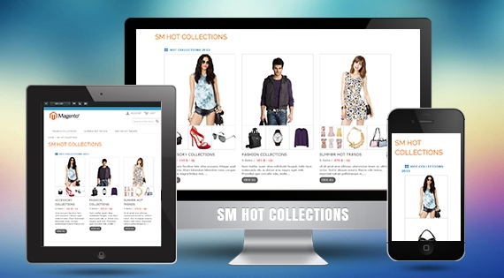 SM Hot Collections - Responsive Module for Magento 2