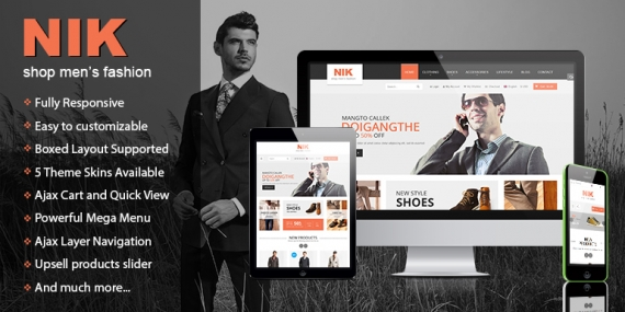 SM Nik - Responsive Magento 2.4.x and 1 Theme for Fashion