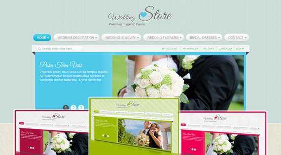 SM Wedding - Theme for Magento