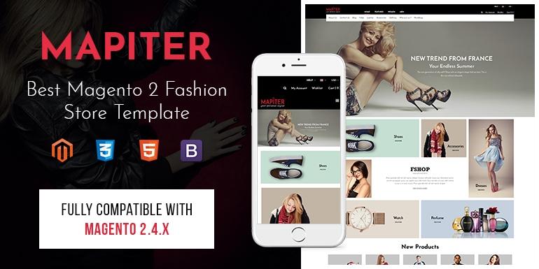 SM Mapiter - Best Magento 2 Fashion Store Theme