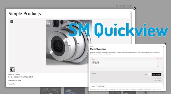 SM Quickview - Magento Module