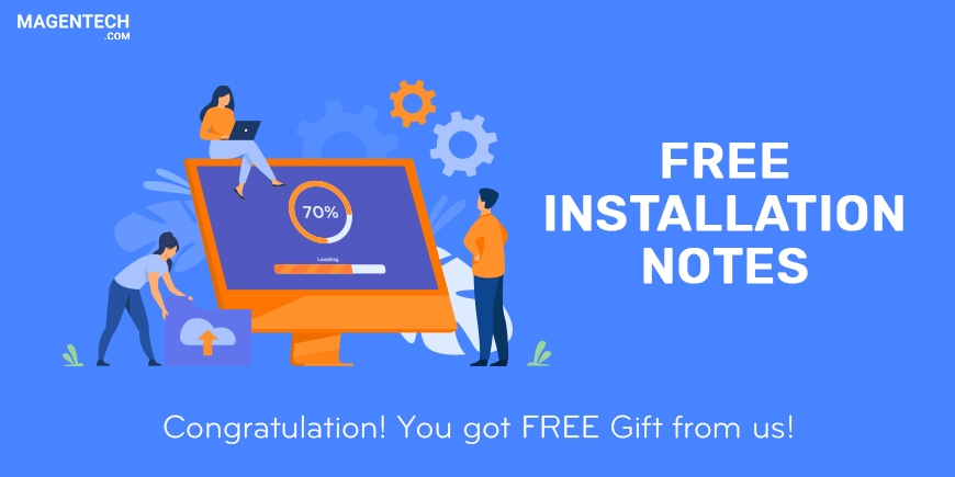 FREE Installation Gift Notes for Customers