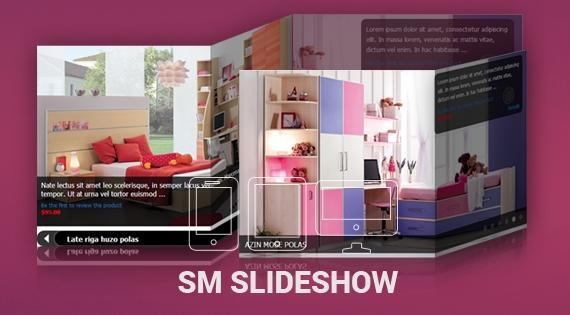 SM Slideshow - Responsive Magento Module