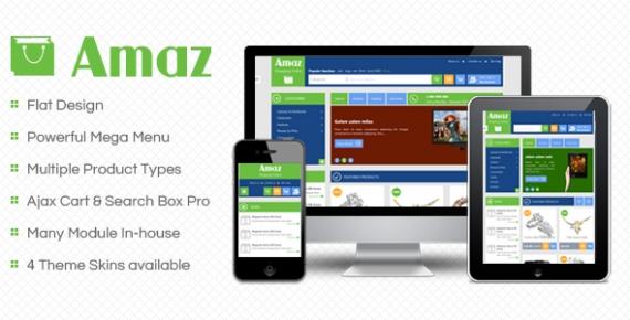 SM Amaz - Responsive Magento Theme