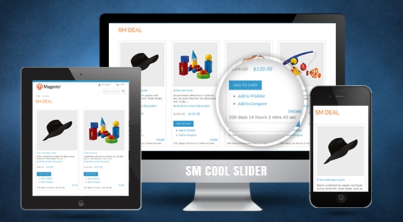 SM Deal - Responsive Magento 2 Module