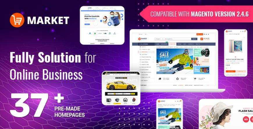 Market - Responsive Magento Theme