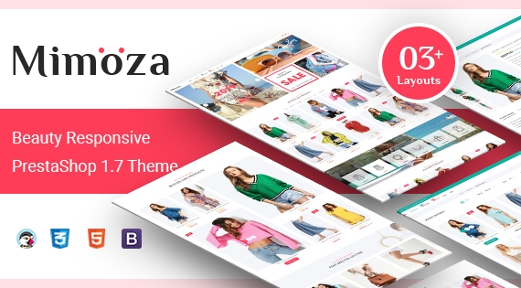 Mimoza - Responsive PrestaShop 1.7 Fashion Store Theme