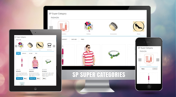 SP Super Category - Responsive Prestashop Module