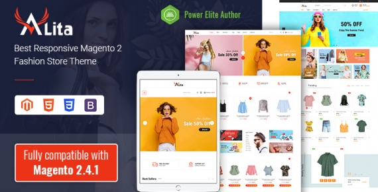 SM Alita - Responsive Magento 2 Fashion Store Theme