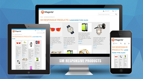 SM Responsive Products - Responsive Magento Module