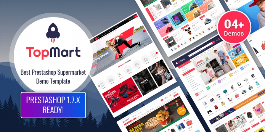 SP TopMart - Multipurpose Responsive PrestaShop 1.7 Theme