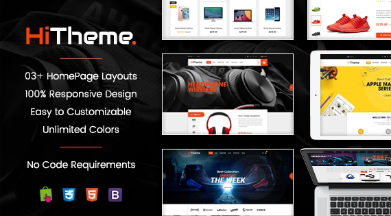 HiTheme - Advanced Responsive PrestaShop 1.7 Theme