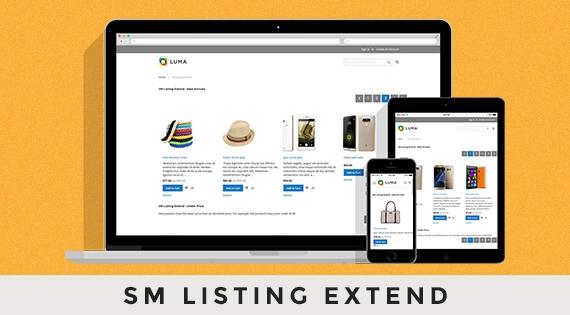 SM Listing Extend - Responsive Magento 2 Module