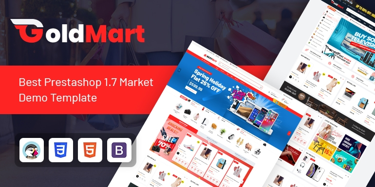 SP Goldmart - Multipurpose Prestashop 1.7 Theme