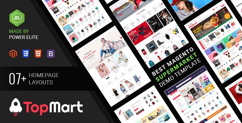 SM TopMart - MultiPurpose Responsive Magento 2 Shopping Theme