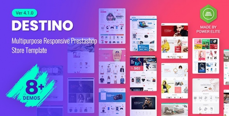 SP Destino - Responsive Prestashop 1.7 Shop Theme