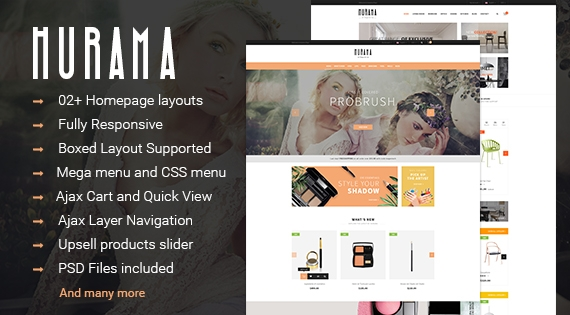 SM Hurama - Responsive Furniture Magento Theme