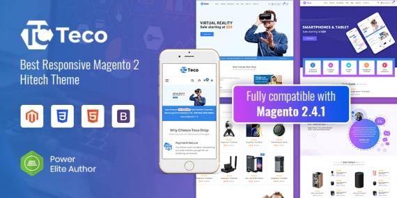 SM Teco - Responsive Hitech/Digital Magento 2 Store Theme