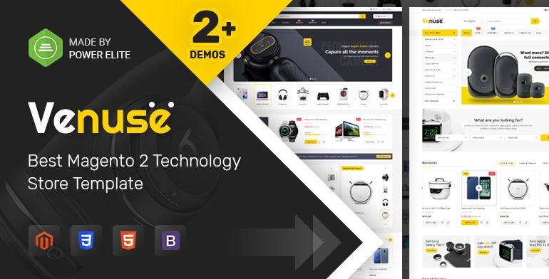 SM Venuse - Responsive Hitech/Digital Magento 2 Store Theme