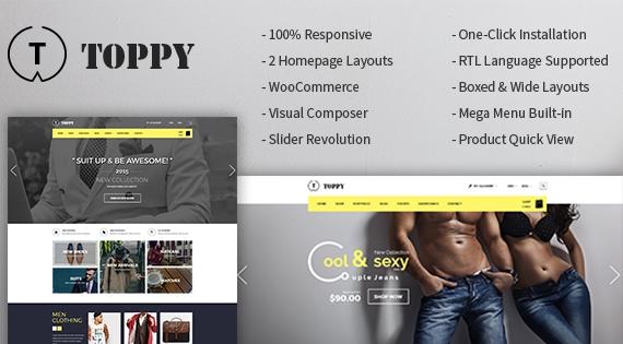 SM Toppy - Responsive Magento Shop Theme