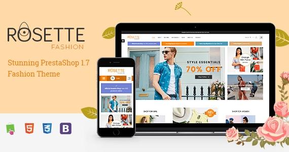 Rosette - Responsive PrestaShop 1.7 Fashion Store Theme