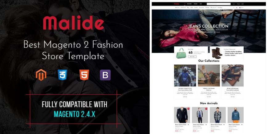 SM Malide - Multipurpose Responsive Magento 2 Theme