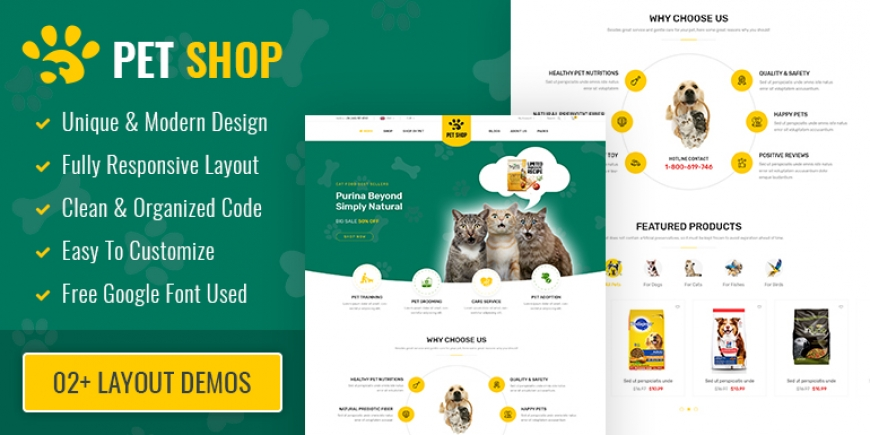 SP PetShop - Beautiful Responsive Prestashop 1.7 Theme