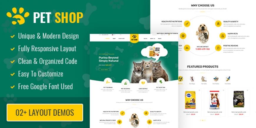 SP PetShop - Beautiful Responsive Prestashop 1.7 Theme