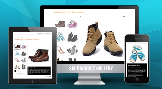 SM Product Gallery - Responsive Module for Magento