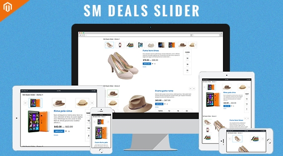 SM Deals Slider - Responsive Magento 2 Module