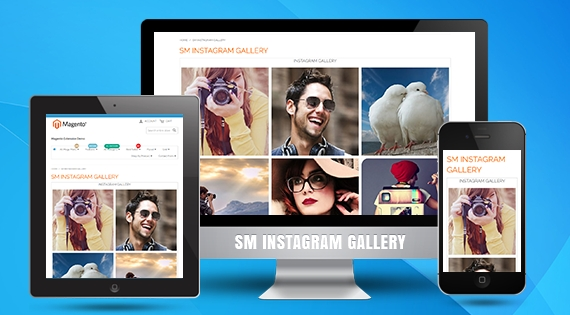 SM Instagram Gallery - Free Responsive Magento 2 Module