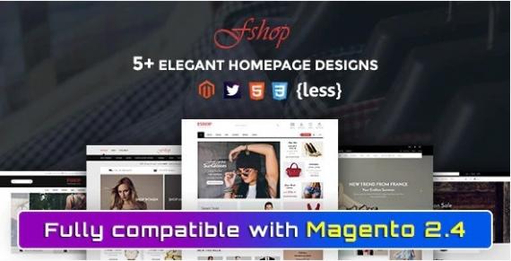 SM Fshop - Responsive Magento 2 Fashion Store Theme