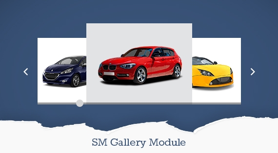 SM Gallery 3D - Free Responsive Magento Module