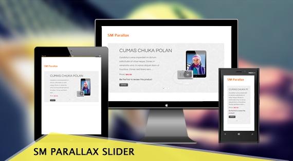 SM Parallax Slider - Responsive Magento Module