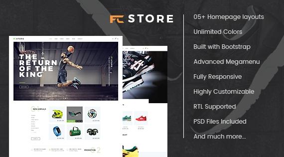 Fcstore - Responsive Multipurpose Prestashop Theme